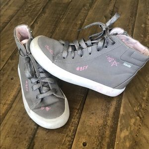 Grey Keds High Top Sneakers